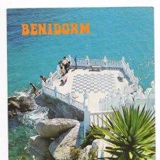 Postales: BENIDORM. ALICANTE. EL CASTILLO. Lote 60077359