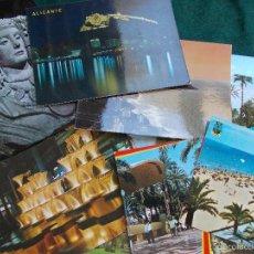 Postales: LOTE DE 13 POSTALES DE ALICANTE ANTIGUAS. Lote 60507819