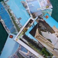 Postales: LOTE DE 17 POSTALES ANTIGUAS DE ALICANTE. Lote 60508403