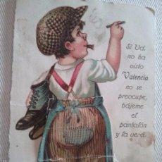 Postales: VALENCIA. HUMOR. TURISTICA. Lote 61273663