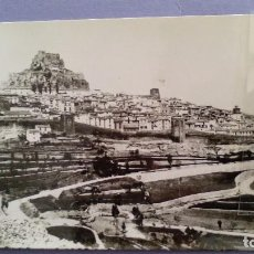 Postales - trajeta postal en blanco y negro de morella (castellon) vista general - 61515003