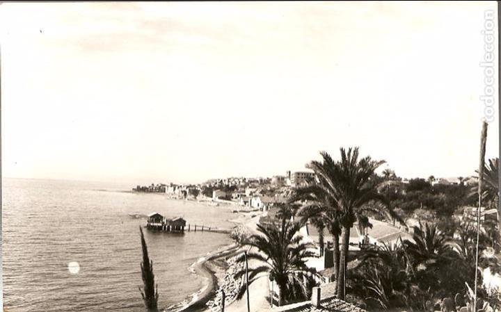 POSTAL, VILLAJOYOSA-ALICANTE, VISTA PANORÁMICA, ESCRITA (Postales - España - Comunidad Valenciana Moderna (desde 1940))