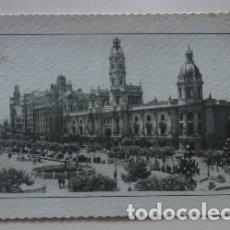 Postales: POSTAL DE VALENCIA - PLAZA DEL CAUDILLO Y AYUNTAMIENTO. Lote 62164364