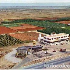 Postales: VALENCIA SILLA HOTEL RESTAURANTE EL CISNE ED. FOTO PAISAJES ESPAÑOLES. CIRCULADA. Lote 62448564