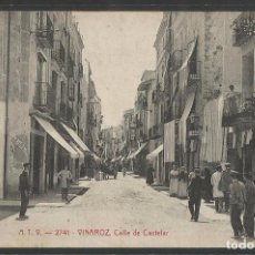 Postales: VINAROZ - ATV 2741 -CALLE DE CASTELAR -VER REVERSO-(44.765). Lote 62552952