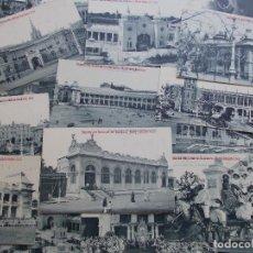 Postales: LOTE DE 36 POSTALES EXPOSICIÓN NACIONAL VALENCIA 1.910. Lote 62798116