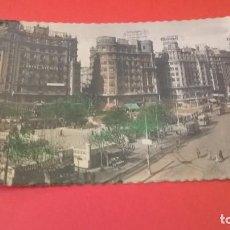 Postales: POSTAL PLAZA DEL CAUDILLO VALENCIA COLOREADA . Lote 63127572