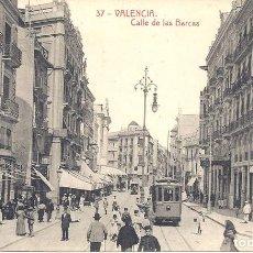 Postales: PS4677 VALENCIA 'CALLE DE LAS BARCAS'. THOMAS. SIN CIRCULAR. Lote 43892405