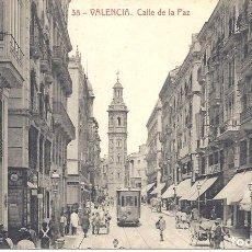 Postales: PS4678 VALENCIA 'CALLE DE LA PAZ'. THOMAS. SIN CIRCULAR. Lote 43892440