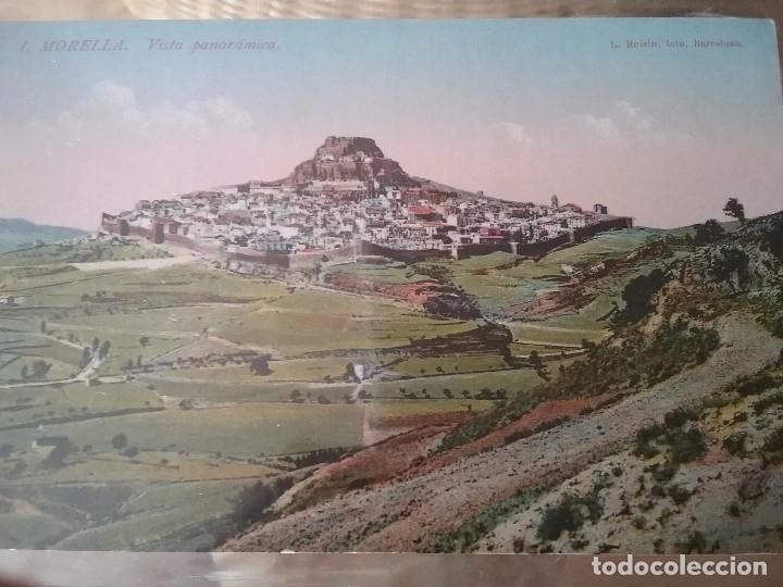 MORELLA. VISTA PANORAMICA. N. 1. COLOREADA. (Postales - España - Comunidad Valenciana Antigua (hasta 1939))