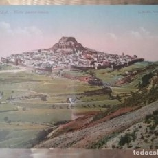 Postales: MORELLA. VISTA PANORAMICA. N. 1. COLOREADA.. Lote 64249375