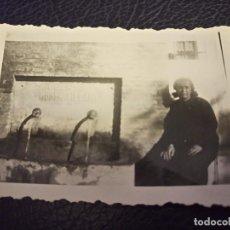 Postales: ANTIGUA FOTOGRAFÍA. VIVER. CASTELLÓN. FUENTE MOSEN VILLAR. PEQUEÑO FORMATO. . Lote 64421663