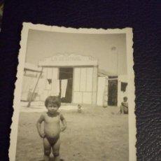 Postales: ANTIGUA FOTOGRAFÍA. NIÑO. VALENCIA. LA REGIONAL. . Lote 64422903