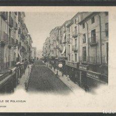 Postales: ALCOY - CALLE DE POLAVIEJA - LIBRERIA DE JOSE LLORENS - HAUSER Y MENET -VER REVERSO-(ZG-45.094). Lote 64621451