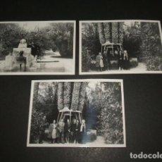 Postales: ELCHE ALICANTE 1946 3 FOTOGRAFIAS. Lote 64805287