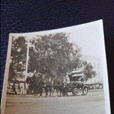 Postales: ANTIGUA FOTOGRAFÍA. BATALLA DE LAS FLORES. LA ALAMEDA. VALENCIA. FOTO PEQUEÑO FORMATO.. Lote 64849171