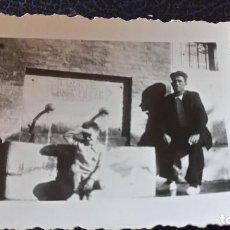 Postales: ANTIGUA FOTOGRAFÍA. VIVER. CASTELLÓN. FUENTE MOSEN VILLAR. FOTO AGFA LUPEX. PEQUEÑO FORMATO. . Lote 64849563