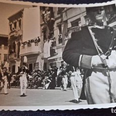 Postales: ANTIGUA FOTOGRAFÍA. PROCESION MARINERA. EL GRAO. VALENCIA. FOTO AÑOS 50.. Lote 64850039