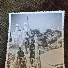 Postales: ANTIGUA FOTOGRAFÍA. MIRADOR DE BENIDORM. ALICANTE. FOTO AÑOS 50. . Lote 65827126