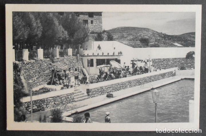 (46686)POSTAL SIN CIRCULAR,BAR Y PISCINA HOTEL LOS CLOTICOS,BEJIS,CASTELLÓN,COMUNIDAD VALENCIANA (Postales - España - Comunidad Valenciana Antigua (hasta 1939))