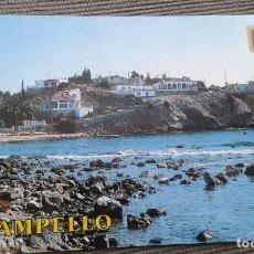 Postales: 1 POSTAL DE CAMPELLO ( ALICANTE ) -- COVETA FUMA -- AÑOS 70 --. Lote 147339024