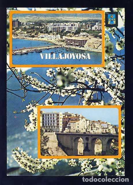 POSTAL DE VILA JOIOSA: VISTA AEREA (ED.SUBIRATS 34) (Postales - España - Comunidad Valenciana Moderna (desde 1940))