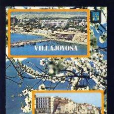 Postales: POSTAL DE VILA JOIOSA: VISTA AEREA (ED.SUBIRATS 34). Lote 67224245