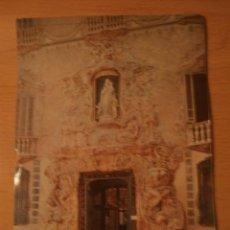 Postales: POSTAL VALENCIA PUERTA PALACIO MARQUES DE DOS AGUAS. Lote 67296701