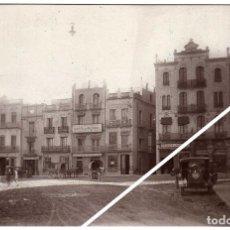 Postales: MAGNIFICA POSTAL FOTOGRAFICA - VINAROZ (CASTELLON) - PLAZA DE JOVELLAR - AMBIENTADA. Lote 50312931