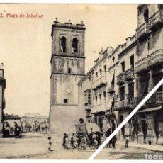 Postales: MAGNIFICA POSTAL - VINAROZ (CASTELLON) - PLAZA DE JOBELLAR (JOVELLAR) - MUY AMBIENTADA. Lote 50312948