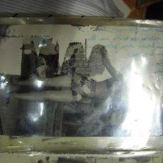 Postales: FALLAS DE VALENCIA 1957 FALLA FOTO ANTIGUA PRECIOSA CHICA CON MINIFALDA. Lote 46342700