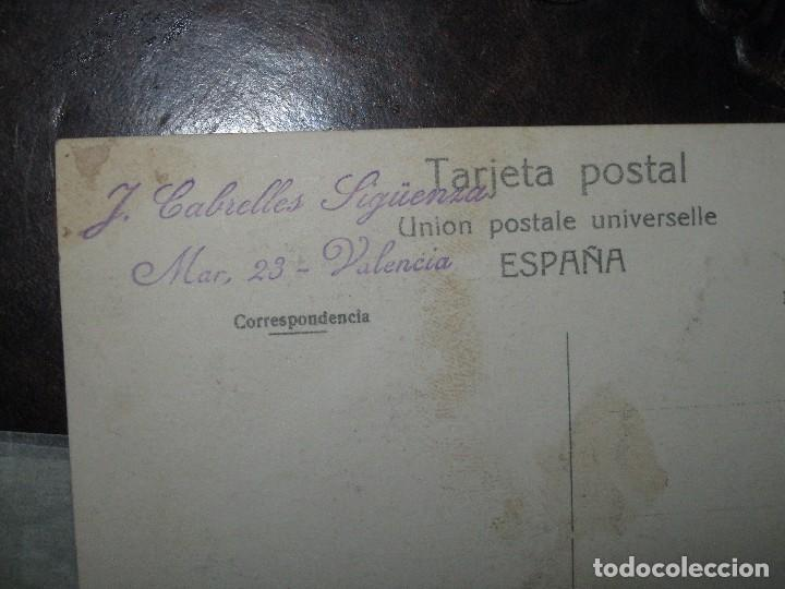 Postales: FESTES antigua postal valencia CARROZA BATALLA FLORES ? CASTA MERCADO INTERNACIONAL DEL ESTADO - Foto 2 - 68961949