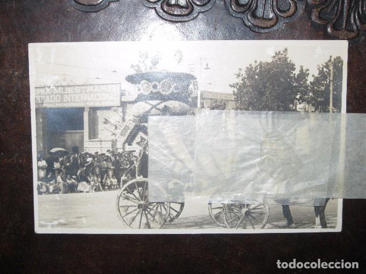 Postales: FESTES antigua postal valencia CARROZA BATALLA FLORES ? CASTA MERCADO INTERNACIONAL DEL ESTADO - Foto 3 - 68961949