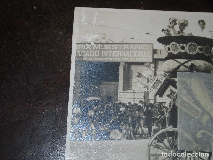 Postales: FESTES antigua postal valencia CARROZA BATALLA FLORES ? CASTA MERCADO INTERNACIONAL DEL ESTADO - Foto 4 - 68961949