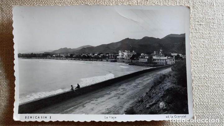 ANTIGUA POSTAL DE BENICASIM. CASTELLON. ED. LA COMERCIAL. AÑOS 50. (Postales - España - Comunidad Valenciana Antigua (hasta 1939))