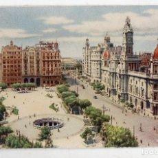 Postales: VALENCIA. PLAZA DEL CAUDILLO.. Lote 69988477