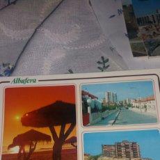 Postales: POSTAL ALBUFERA COSTA BLANCA. Lote 70477015