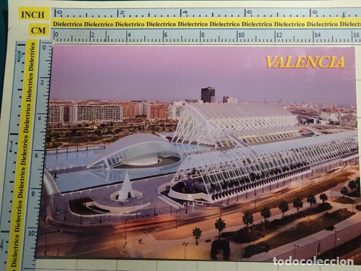 POSTAL DE VALENCIA. AÑOS 2000. CIUDAD DE LAS ARTES Y LAS CIENCIAS. 1827 (Postales - España - Comunidad Valenciana Moderna (desde 1940))