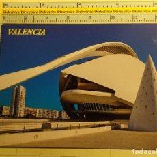 Postales: POSTAL DE VALENCIA. AÑOS 2000. CIUDAD DE LAS ARTES Y LAS CIENCIAS, PALAU. 1821. Lote 71035905