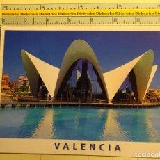 Postales: POSTAL DE VALENCIA. AÑOS 2000. CIUDAD DE LAS ARTES Y LAS CIENCIAS, OCEANOGRÁFICO. 1823. Lote 71035929
