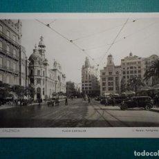 Postales: POSTAL - ESPAÑA - VALENCIA - 113 VALENCIA - PLAZA CARTELAR - L. ROISIN - MUY RARA. Lote 71652491