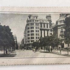 Postales: POSTAL TROQUELADA CALLE DE LA PAZ (VALENCIA) 1960 CURSADA . Lote 71818783