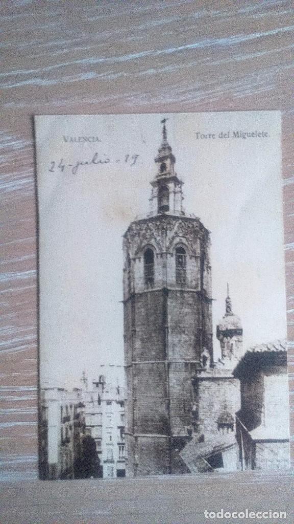 TORRE DEL MIGUELETE. CIRCULADA (Postales - España - Comunidad Valenciana Antigua (hasta 1939))