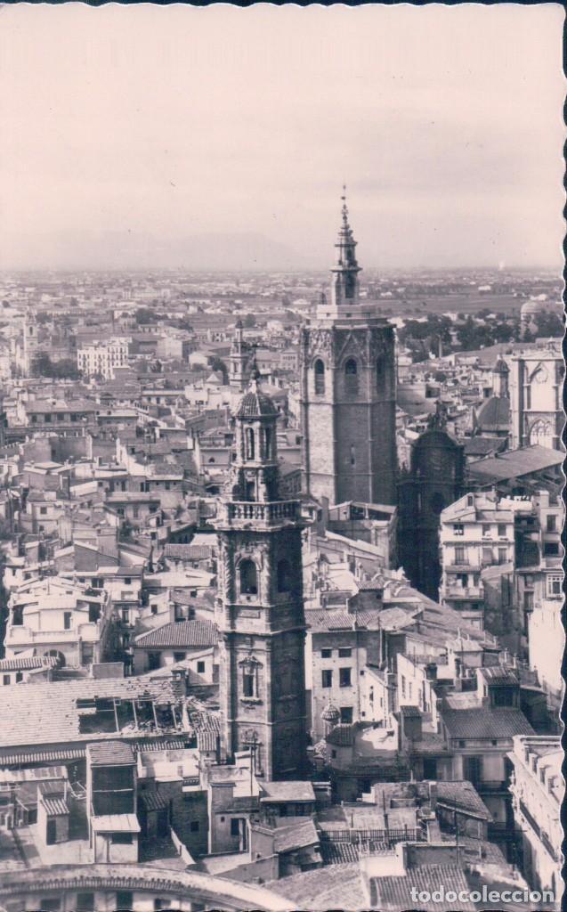 POSTAL VALENCIA, Nº 45, VISTA PARCIAL Y TORRE DE EL MICALET - GARRABELLA (Postales - España - Comunidad Valenciana Antigua (hasta 1939))