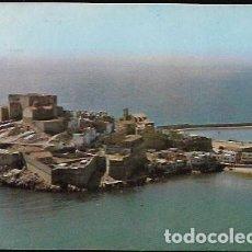 Postales: POSTAL* PEÑÍSCOLA , VISTA AÉREA * 1963. Lote 296784363