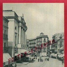 Postales: POSTAL VALENCIA, CALLE DE LAS BARCAS Y TEATRO PRINCIPAL, LACOSTE, P85103. Lote 72688675