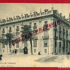 Postales: POSTAL VALENCIA, FABRICA DE TABACOS, P85171. Lote 72786123