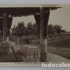 Postales: POSTAL BENICARLO - TERRAZA DEL ALBERGUE DEL P.N.T.. Lote 73032671
