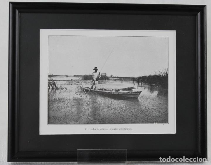 cinco imágenes enmarcadas en blanco y negro de - Comprar Postales de ...