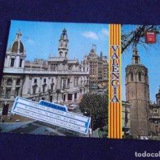 Postales: VALENCIA-V3-Nº1254-AYUNTAMIENTO Y MIGUELETE. Lote 75372219